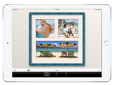 frame builder application d 39 encadrement photo pour ipad et iphone et cadres d 39 art. Black Bedroom Furniture Sets. Home Design Ideas